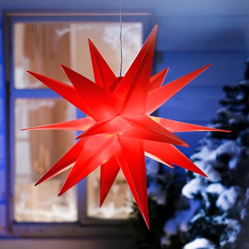 Obrázek z LED Vánoční hvězda