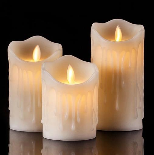 Obrázek z Dekorativní LED svíčka na baterie