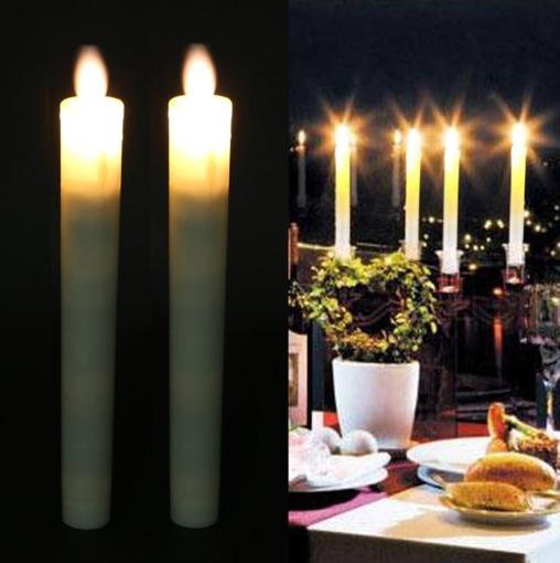 Obrázek z LED svíčky 2ks, 25 cm