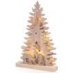 Obrázek z Dřevěná svítící LED dekorace 45 cm