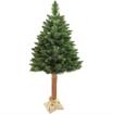 Obrázek z Umělý Vánoční strom na kmeni přírodní borovice 120 cm + stojan