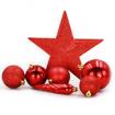 Obrázek z Sada vánočních koulí 33 ks + špice na stromeček