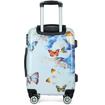 Obrázek z Cestovní kufry sada 3 ks ABS - PC potisk Butterfly