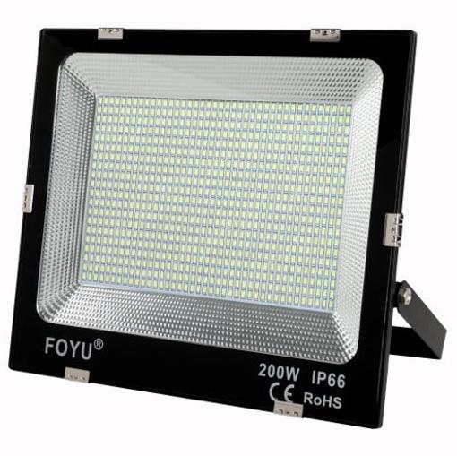 Obrázek z Venkovní Led reflektor FOYU CO200, ultra tenký 200W 16000lm