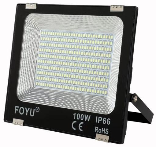 Obrázek z LED reflektor, halogen 100W venkovní FOYU Ultra tenký
