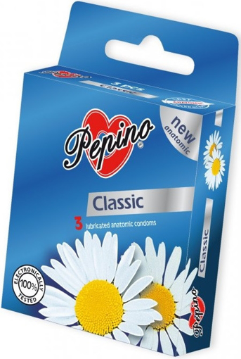 Obrázek z Kondomy 3ks Pepino Classic