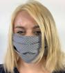 Obrázek z Bavlněná rouška s kapsou na filtr - na gumičku