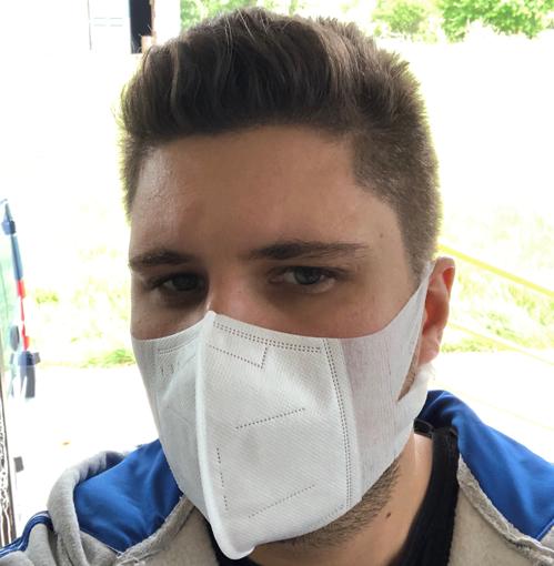 Obrázek z Elastická respirační rouška