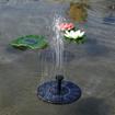 Obrázek z Solární fontána plovoucí