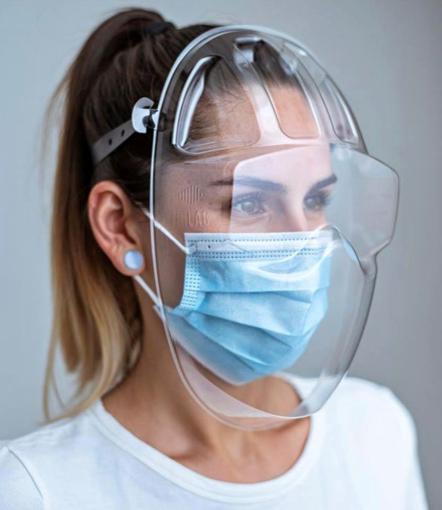 Obrázek z Ochranný štít na celý obličej