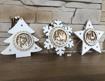 Obrázek z Dřevěné svítící LED vánoční ozdoby