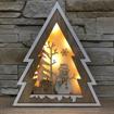 Obrázek z LED světelná dřevěná dekorace - strom