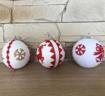 Obrázek z Vánoční ozdoba, kouličky 3 ks