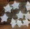 Obrázek z Světelná LED dekorace hvězdy 10ks/4m