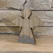 Obrázek z Vánoční dřevěný anděl, masiv 12x12x2 cm
