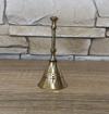 Obrázek z Vánoční mosazný zvonek 9 cm