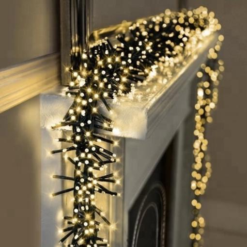 Obrázek z LED vánoční řetěz - ježek, venkovní 500 LED/15 m s flash