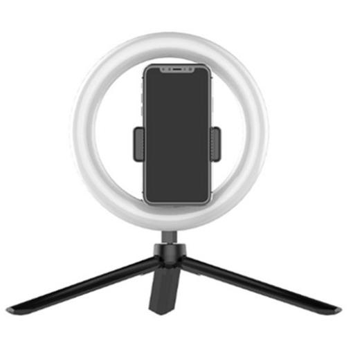 Obrázek z Kruhové LED foto, kamera světlo - 15 cm