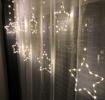 Obrázek z LED světelná záclona hvězda - 196 LED/8 m venkovní