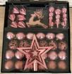 Obrázek z Sada vánočních ozdob a kouliček 42 ks