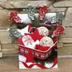 Obrázek z Vánoční dekorace na kolíčku 6ks