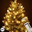 Obrázek z Vánoční LED osvětlení, světelný řetěz, venkovní 500 ks/55 m s časovačem a dálkovým ovládáním