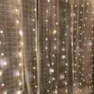 Obrázek z Vánoční osvětlení venkovní, světelná LED záclona 400 ks/4,5 m