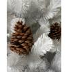 Obrázek z Umělý vánoční strom White Premium 150 cm + stojan