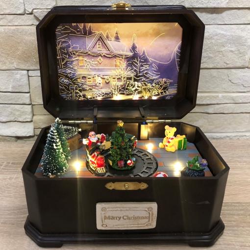 Obrázek z Vánoční hrací skříňka
