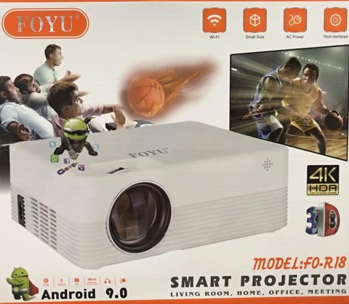 Obrázek z Projektor WiFi FO-R18 s operačním systémem Android