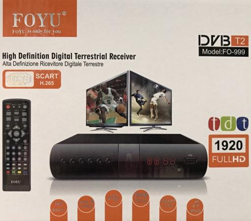 Obrázek z Set-top box pro příjem pozemního vysílání DVB-T2