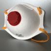 Obrázek z Respirátor FFP2 NR prémiový s ventilem a certifikací
