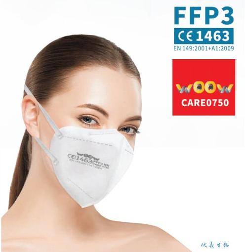 Obrázek z Respirátor FFP3 s certifikátem