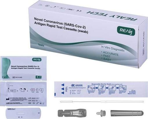 Obrázek z RealyTech Antigenní COVID test ze slin 1ks