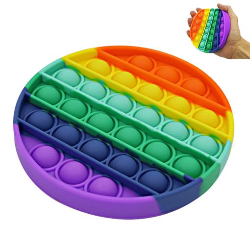 Obrázek z Pop it Rainbow antistresová hra