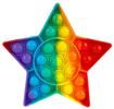 Obrázek z Pop it antistresová hračka - hvězda