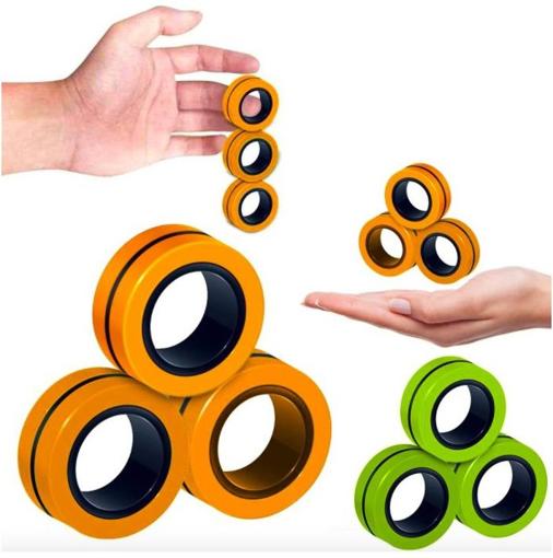 Obrázek z Antistresové magnetické kroužky
