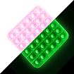 Obrázek z Pop it antistresová hra - čtverec svítící ve tmě