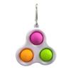 Obrázek z Pop it antistresová klíčenka - Trio multicolor