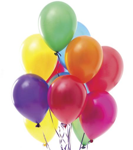Obrázek z Balonky 50ks mix barev