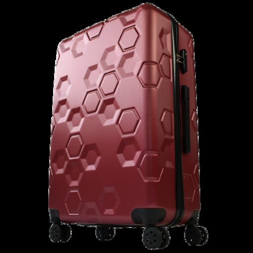 Obrázek z Skořepinový cestovní kufr na 4 kolečkách - L47