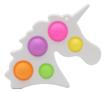 Obrázek z Pop it antistresový přívěsek - jednorožec