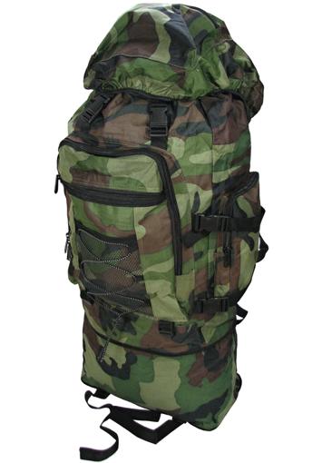 Obrázek z Cestovní, turistická krosna, batoh velký 90L maskáč