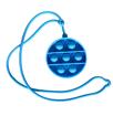 Obrázek z Pop it antistresová hra na krk - kruh