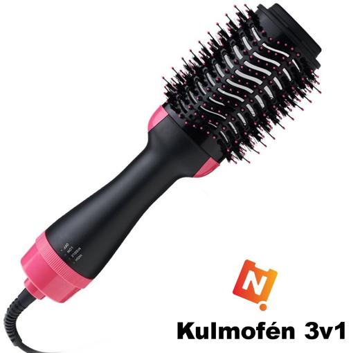 Obrázek z Kulmofén - fén na vlasy, hřeben a kulma v jednom