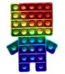 Obrázek z Pop it antistresová hra - Minecraft