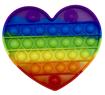 Obrázek z Pop it antistresová hračka - srdce