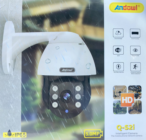 Obrázek z IP WiFi Smart kamera Q-S2i venkovní otočná se záznamem obrazu i zvuku, HD 1080p