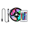 """Obrázek z Chytrý RGB LED pásek, bluetooth podsvícení za televizi s úhlopříčkou do 65"""" a menší"""