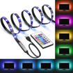 """Obrázek z Chytrý RGB LED pásek, bluetooth podsvícení za televizi s úhlopříčkou do 80"""" a menší"""